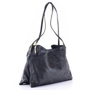 Pour La Victoire Leather Shoulder Bag in Black EUC